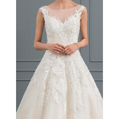 vestidos de noiva decote querido