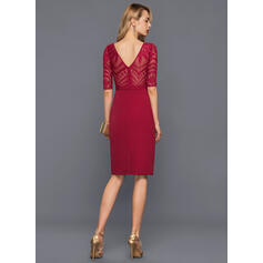 formal knee length cocktail dresses
