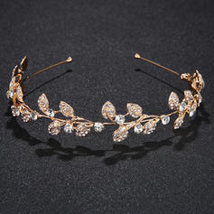 """Tiaras Wedding/Special Occasion/Party Alloy 5.12""""(Approx.13cm) 1.18""""(Approx.3cm) Headpieces"""