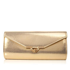 Clutches Wedding/Ceremony & Party PU Twist-lock closure Classical Clutches & Evening Bags
