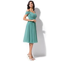 dusky blue bridesmaid dresses