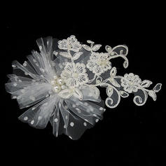"Headbands Wedding/Special Occasion Lace/Tulle 3.94""(Approx.10cm) 3.15""(Approx.8cm) Headpieces"