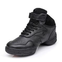 Frauen Sneakers Tanzschuhe Echtleder Tanzschuhe