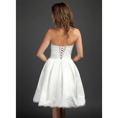 plus size abiti da sposa con le braccia
