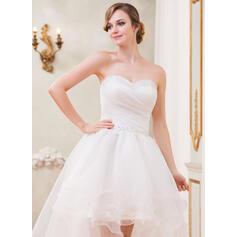 monteret blonder vintage brudekjoler