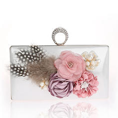 Clutches/Wristlets/Totes/Bridal Purse/Fashion Handbags/Makeup Bags/Luxury Clutches Wedding/Ceremony & Party/Casual & Shopping/Office & Career PVC Snap Closure Elegant Clutches & Evening Bags