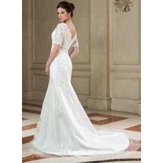vestidos de novia hasta la rodilla usa