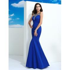 blue and black short prom dresses