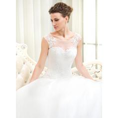 robes de mariée en satin sirène