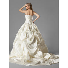chest plate wedding dresses