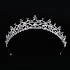 "Tiaras Wedding/Special Occasion Rhinestone/Alloy 10.83""(Approx.27.5cm) 1.57""(Approx.4cm) Headpieces"