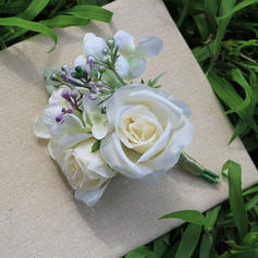 "Flower Sets Free-Form Wedding Satin 5.12"" (Approx.13cm) Wedding Flowers"