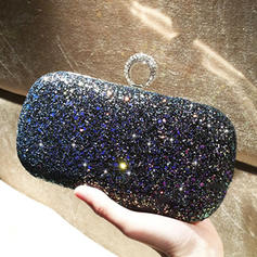 "Clutches/Satchel Ceremony & Party Sequin Shining 7.48""(Approx.19cm) Clutches & Evening Bags"