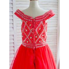 short length flower girl dresses