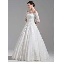simple long sleeve wedding dresses lace