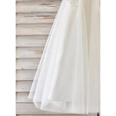 cheap chiffon flower girl dresses