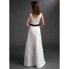 ¡vestido de boda de la dama de honor del cordón de la vendimia