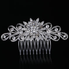 """Combs & Barrettes Wedding/Special Occasion Rhinestone 4.33""""(Approx.11cm) 2.36""""(Approx.6cm) Headpieces"""