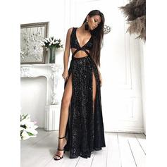 trendy prom dresses with sleeves