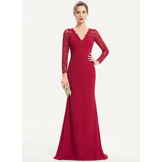 red lace evening dresses uk