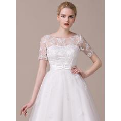 vestidos de novia largos de té vintage