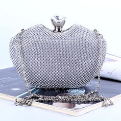 Clutches/Satchel Wedding/Ceremony & Party Crystal/ Rhinestone Elegant Clutches & Evening Bags
