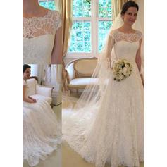 Elegantes vestidos de novia sirena