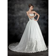 vestidos de novia de seda