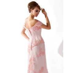 aline mother of the bride dresses tea length