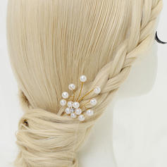 "Hairpins Wedding/Special Occasion/Party Alloy/Imitation Pearls 3.94""(Approx.10cm) 1.38""(Approx.3.5cm) Headpieces"