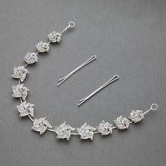 "Headbands Wedding/Special Occasion/Party Rhinestone/Alloy 11.02""(Approx.28cm) 0.78""(Approx.2cm) Headpieces"
