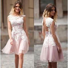 blue homecoming dresses lace