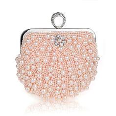 Elegant Pearl Koblinger/Wristletter/Posetasker/Brude Pung/Mode håndtasker/makeup Tasker/Luksus Koblinger