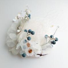 Baumwolle mit Blume Baskenmütze Hut Schöne/Prächtig Damen Mützen
