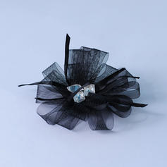"""Flowers & Feathers Special Occasion/Party 1.97""""(Approx.5cm) 3.94""""(Approx.10cm) Classic Headpieces"""