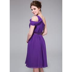 vestidos de dama de honor rosa polvorientos cortos