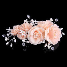 Headbands Wedding/Special Occasion/Party Crystal/Imitation Pearls/Silk Flower Beautiful (Sold in single piece) Headpieces