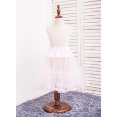 Petticoats Tulle Netting A-Line Slip 2 Tiers Daily Wear Petticoats