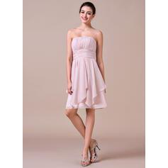 david's bridal chiffon bridesmaid dresses