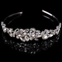 "Tiaras Wedding/Special Occasion Rhinestone/Alloy 1.97""(Approx.5cm) 6.3""(Approx.16cm) Headpieces"