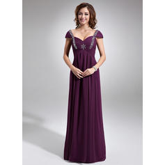 Empire Sweetheart Floor-Length Mother of the Bride Dresses With Ruffle Beading (008006047)