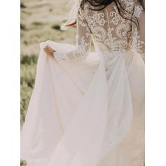 outside wedding dresses for fall