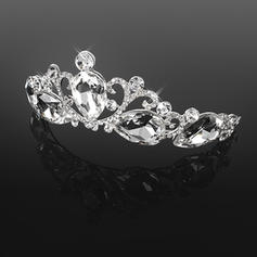 "Tiaras Wedding/Special Occasion Crystal/Alloy 5.53""(Approx.14cm) 1.77""(Approx.4.5cm) Headpieces"