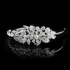 """Tiaras Wedding/Special Occasion/Party Rhinestone/Alloy 1.97""""(Approx.5cm) 5.51""""(Approx.14cm) Headpieces"""