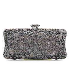 Clutches Wedding/Ceremony & Party Alloy Clip Closure Elegant Clutches & Evening Bags