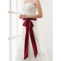 Women Satin Sash Elegant Sashes & Belts