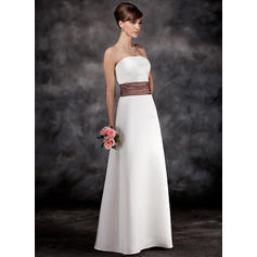 aline long bridesmaid dresses