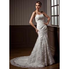 Sweetheart General Plus - Trumpet/Mermaid Lace Wedding Dresses (002196844)