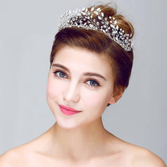 "Tiaras Wedding/Special Occasion/Party Crystal/Alloy 9.65""(Approx.24.5cm) 1.97""(Approx.5cm) Headpieces"