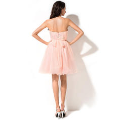 dark pink homecoming dresses
